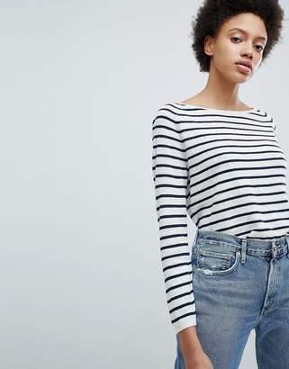 Selected Stripe Lightweight Sweater