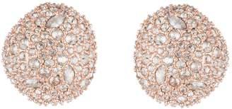 Alexis Bittar Button Post Crystal Stud Earrings