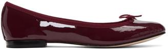 Repetto Burgundy Patent Cendrillon Ballerina Flats