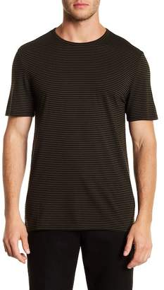 Vince Feeder Striped Crew Tee