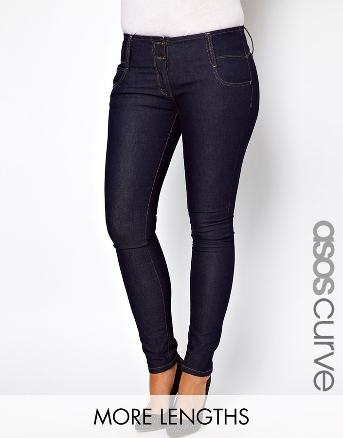 ASOS CURVE Super Sexy Skinny Jeans