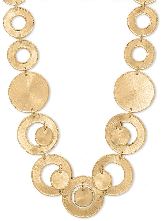 Roberto Coin 18k Yellow Gold Circle Necklace