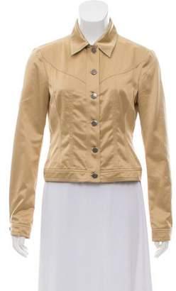Philosophy di Alberta Ferretti Metallic Long Sleeve Jacket