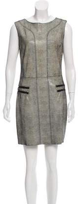Drome Leather Sheath Dress