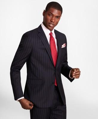 Brooks Brothers BrooksGate Regent-Fit Bead-Stripe Twill Suit Jacket