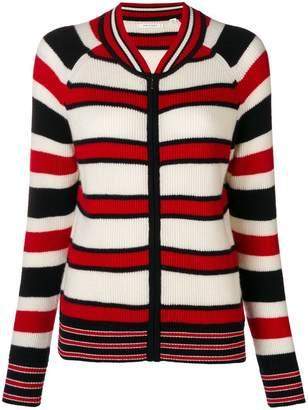 Parker Chinti & striped zipped sweater