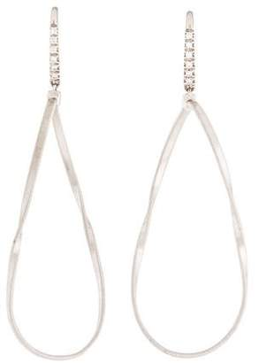 Marco Bicego 18K Diamond Teatro Drop Earrings