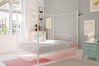 DHP Canopy Metal Bed with Sturdy Bed Frame