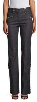 Valentino Studded Stretch Jeans