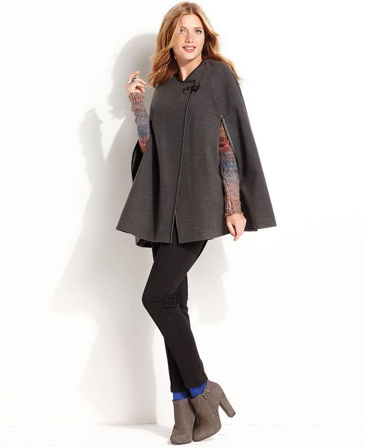 Kensie Coat, A-Line Cape