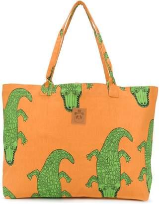 Mini Rodini crocodile print tote bag