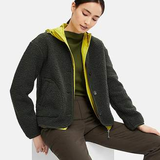 Uniqlo Women's Fleece Collarless Jacket