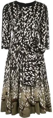 Samantha Sung blossom-print dress