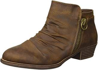 Sugar Trust ME Women's Casual Ruched Scrunch Ankle Bootie Boot