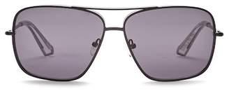 Elizabeth and James Deacon 61mm Metal Aviator Sunglasses