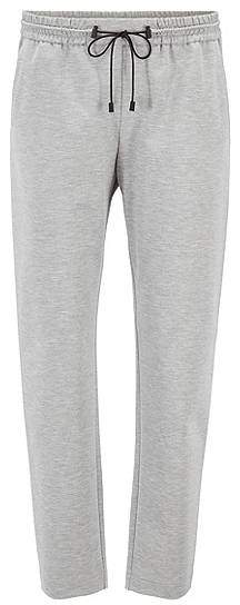 Relaxed-fit jogging trousers in stretch jersey