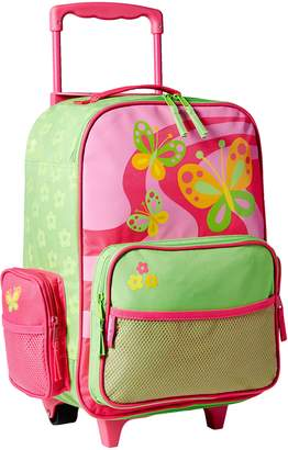 Stephen Joseph Little Girls' Rolling Butterfly Luggage