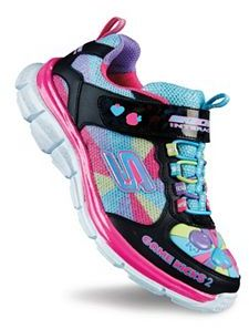 Skechers Game Kicks Juicy Smash 2 Girls' Light-Up Shoes $69.99 thestylecure.com