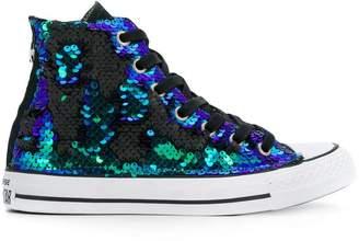 Converse Chuck Taylor All Star sequins hi-top sneakers