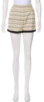 By Malene Birger Bouclé High-Rise Mini Shorts