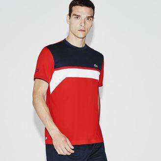 Men's Sport Ultra Dry Chest Stripe Tennis T-Shirt $75 thestylecure.com