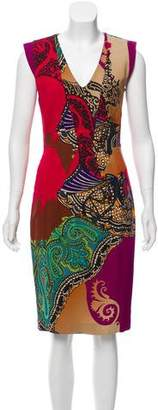 Etro Abstract Sleeveless Dress