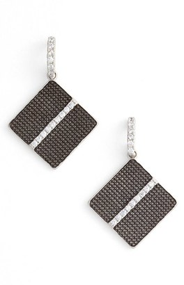 Women's Frieda Rothman Contemporary Deco Cubic Zirconia Drop Earrings $165 thestylecure.com