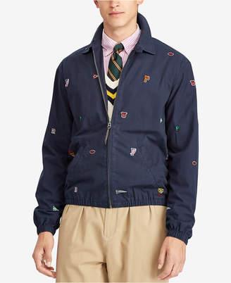 Polo Ralph Lauren Men's Bayport Embroidered Cotton Windbreaker