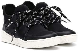Lanvin Enfant TEEN classic hi-top sneakers