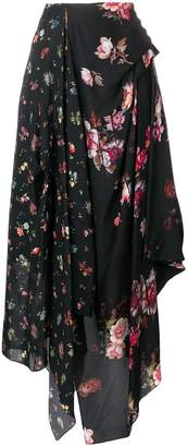 Preen by Thornton Bregazzi Kaley floral printed skirt