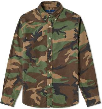 Polo Ralph Lauren Camo Print Button Down Shirt