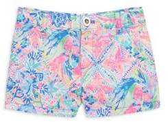 Lilly Pulitzer Toddler's, Little Girl's & Girl's Mini Callahan Shorts
