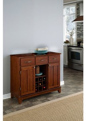 Home Styles Buffet with Wood Top, Cherry
