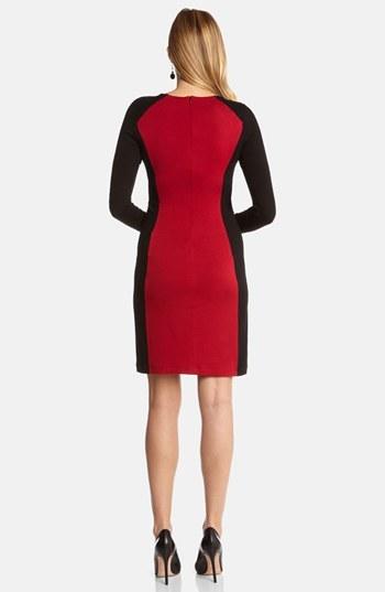 Karen Kane 'Monte Carlo' Colorblock Sheath Dress
