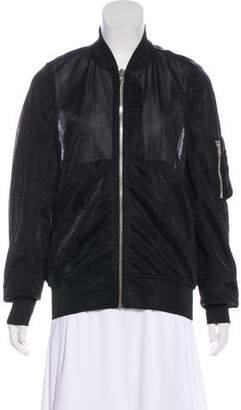 Rick Owens Mesh Bomber Jacket