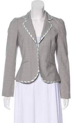 Rebecca Taylor Notched-Lapel Wool Blazer