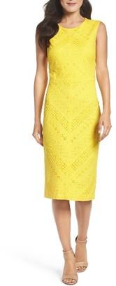 Women's Maggy London Lace Sheath Dress $158 thestylecure.com