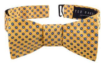 Ted Baker Grid Silk Bow Tie