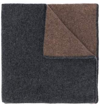 Dell'oglio two-tone scarf