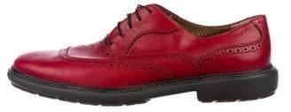 Salvatore Ferragamo Leather Oxford Brogues