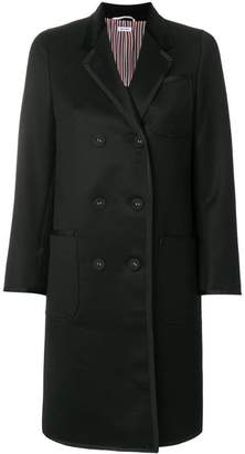 Thom Browne double-breasted midi coat