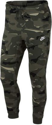 Nike Men's Sportswear Camo Joggers
