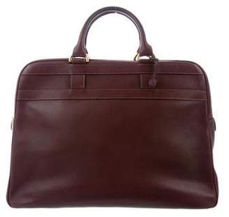 Delvaux Leather Briefcase