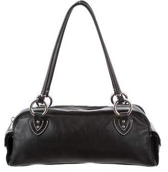 Marc Jacobs Leather Push-Lock Bag