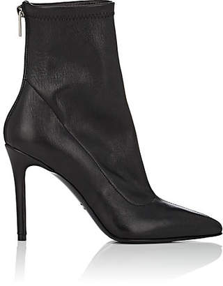 ab7b13f75398 Barneys New York Women s Stretch Leather Ankle Boots - Black