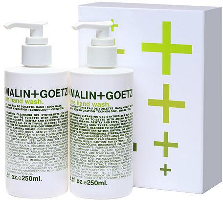 MALIN+GOETZ rum + lime hand wash set 1 set