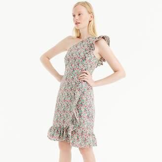 J.Crew Asymmetrical ruffle dress in Liberty® Emma & Georgina floral