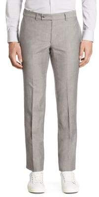 Saks Fifth Avenue MODERN Ford Wool & Linen Pants