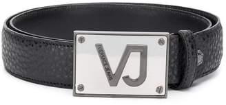Versace embossed logo belt