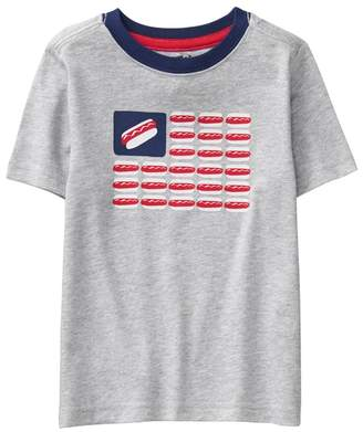 Crazy 8 Hot Dog Flag Tee